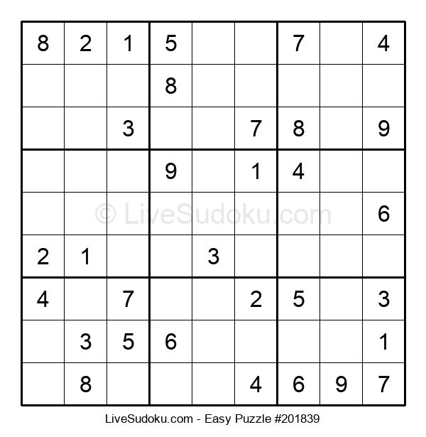 Beginners Puzzle #201839
