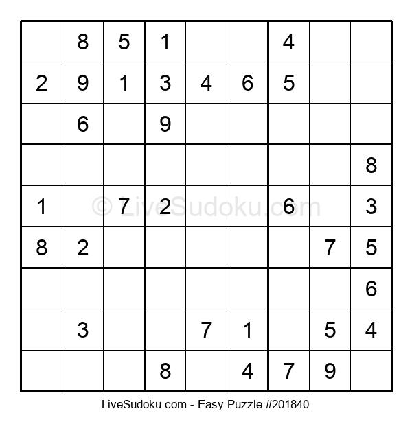 Beginners Puzzle #201840
