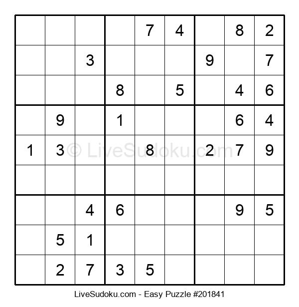 Beginners Puzzle #201841