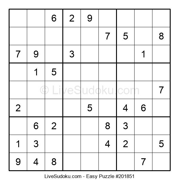 Beginners Puzzle #201851