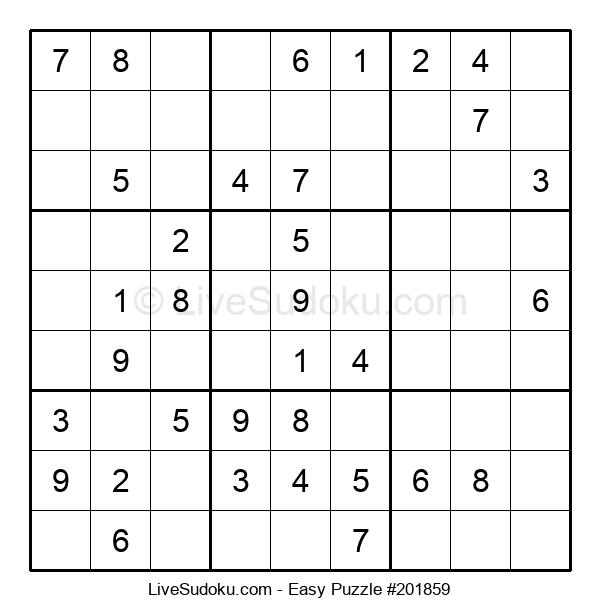 Beginners Puzzle #201859