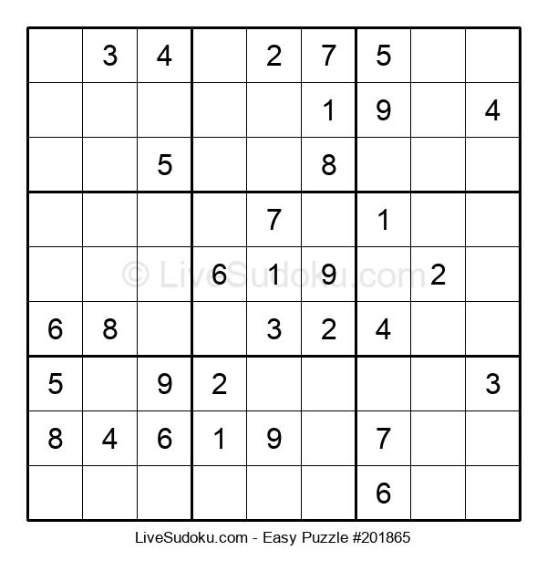 Beginners Puzzle #201865