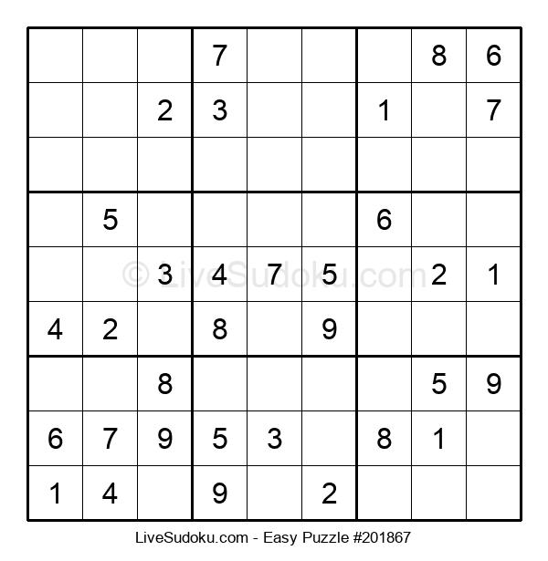 Beginners Puzzle #201867