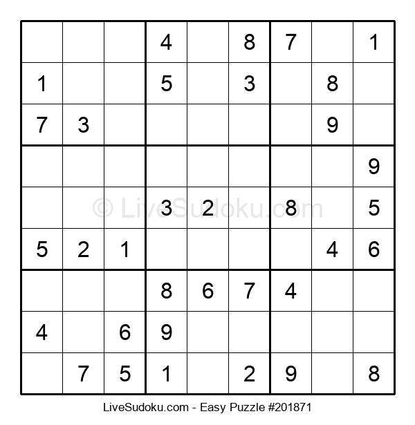 Beginners Puzzle #201871