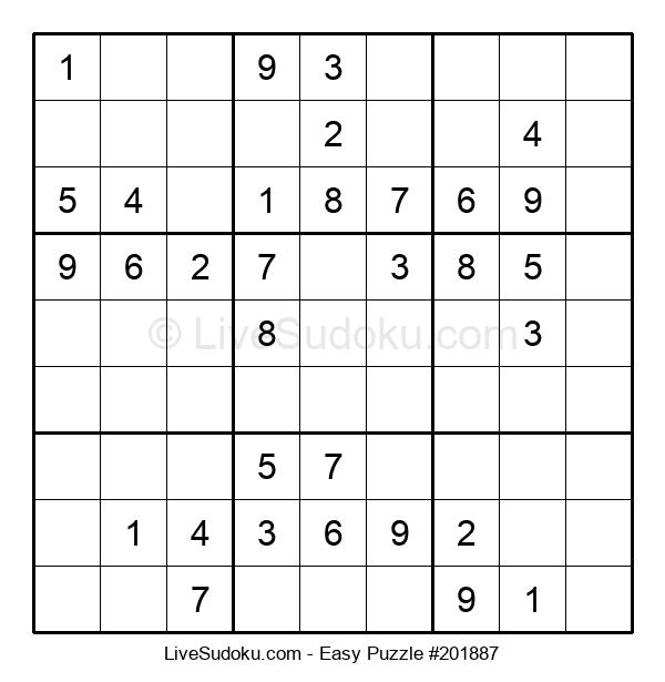 Beginners Puzzle #201887