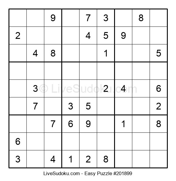 Beginners Puzzle #201899