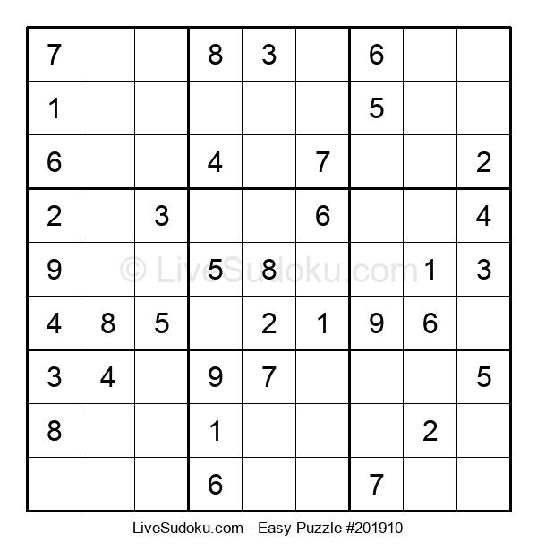 Beginners Puzzle #201910