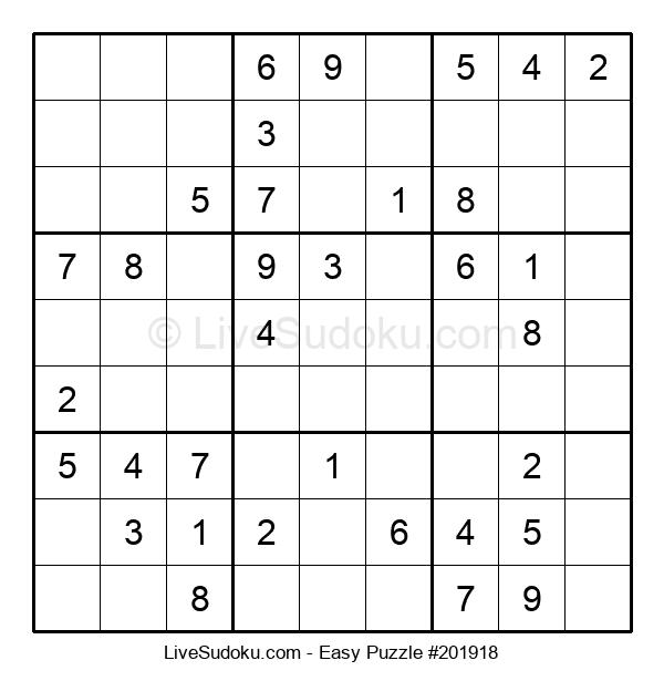 Beginners Puzzle #201918