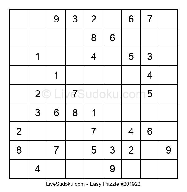 Beginners Puzzle #201922