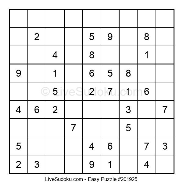 Beginners Puzzle #201925