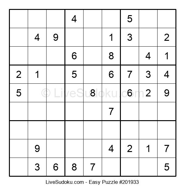 Beginners Puzzle #201933