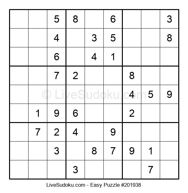 Beginners Puzzle #201938