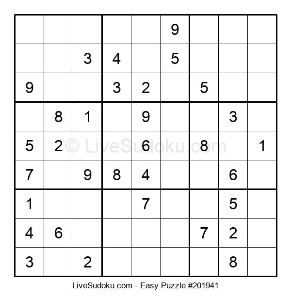 Beginners Puzzle #201941