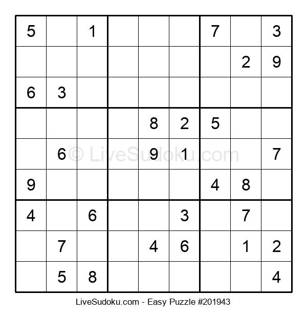 Beginners Puzzle #201943