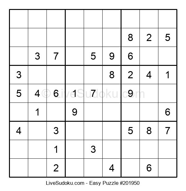 Beginners Puzzle #201950
