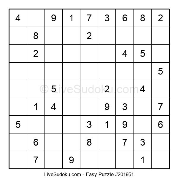 Beginners Puzzle #201951