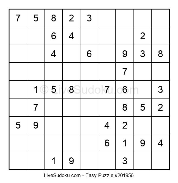 Beginners Puzzle #201956