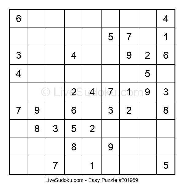 Beginners Puzzle #201959