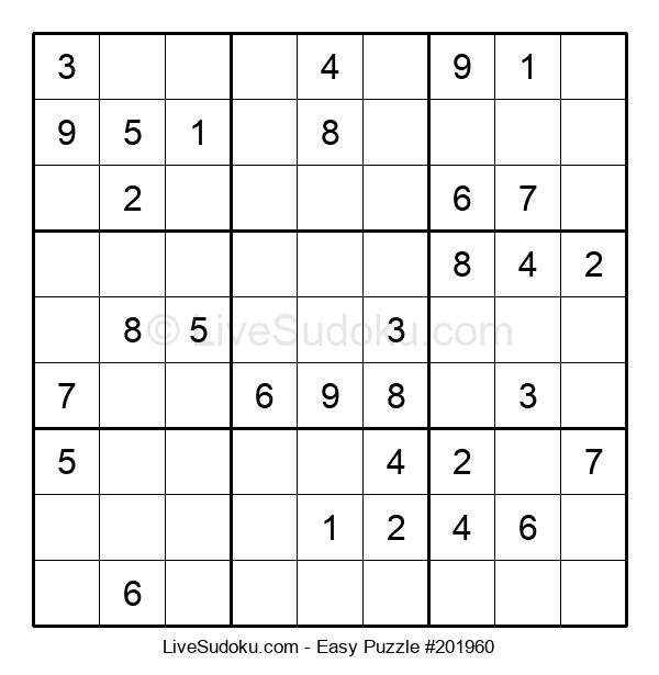 Beginners Puzzle #201960
