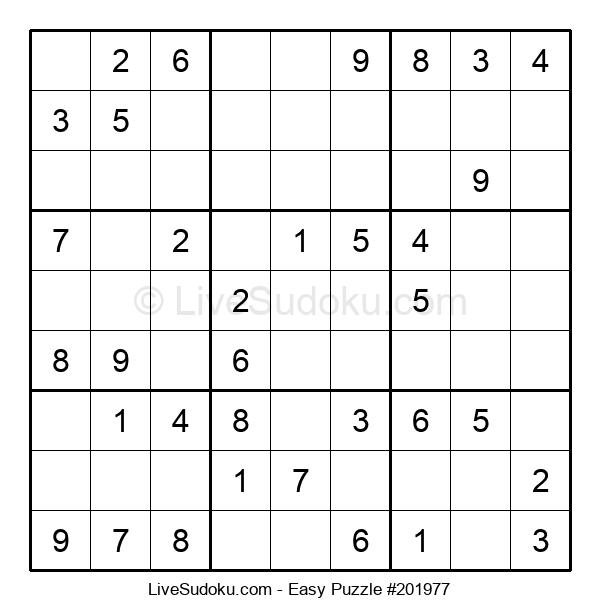 Beginners Puzzle #201977
