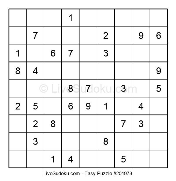 Beginners Puzzle #201978