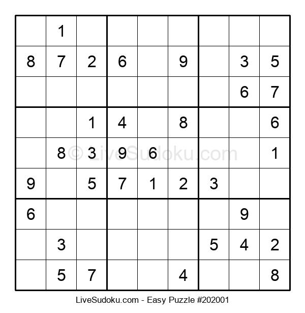 Beginners Puzzle #202001