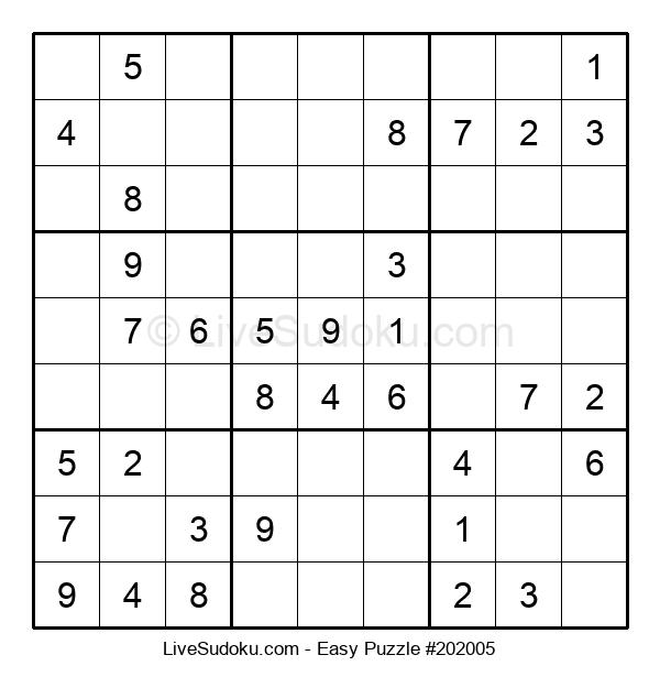 Beginners Puzzle #202005