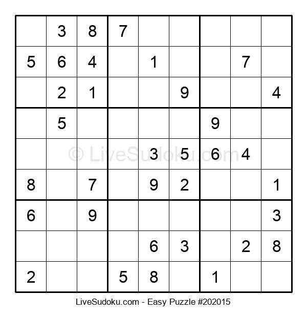 Beginners Puzzle #202015
