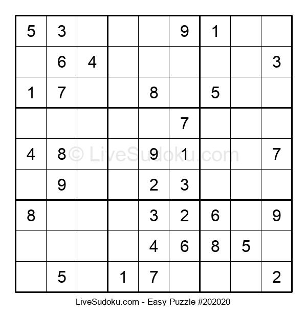 Beginners Puzzle #202020
