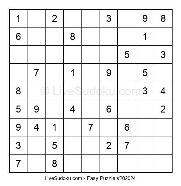 Beginners Puzzle #202024