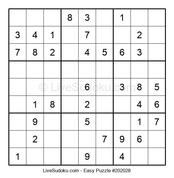 Beginners Puzzle #202028
