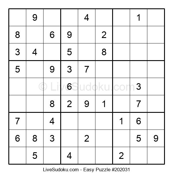 Beginners Puzzle #202031