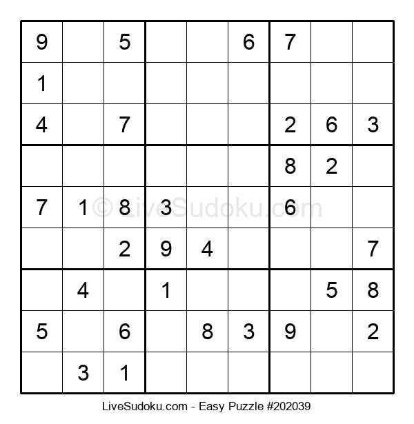Beginners Puzzle #202039