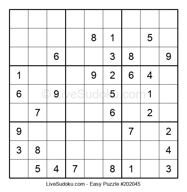 Beginners Puzzle #202045