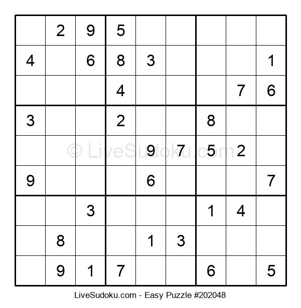 Beginners Puzzle #202048