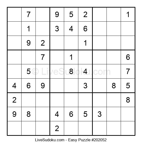 Beginners Puzzle #202052