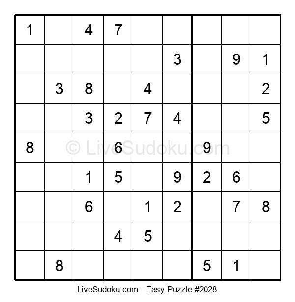Beginners Puzzle #2028