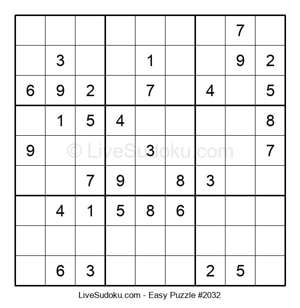 Beginners Puzzle #2032