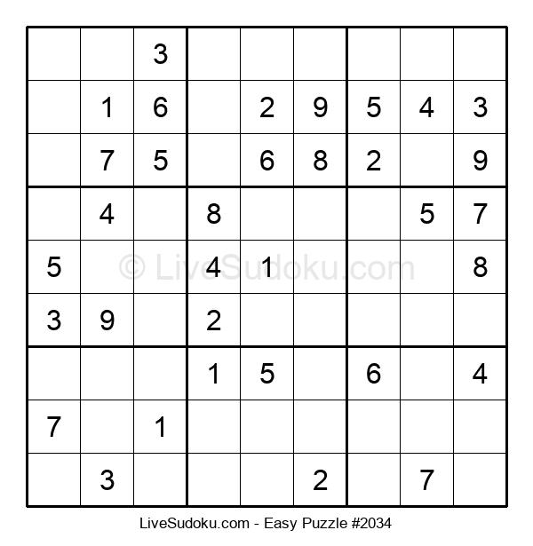 Beginners Puzzle #2034
