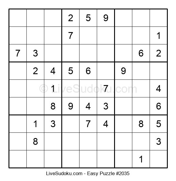 Beginners Puzzle #2035