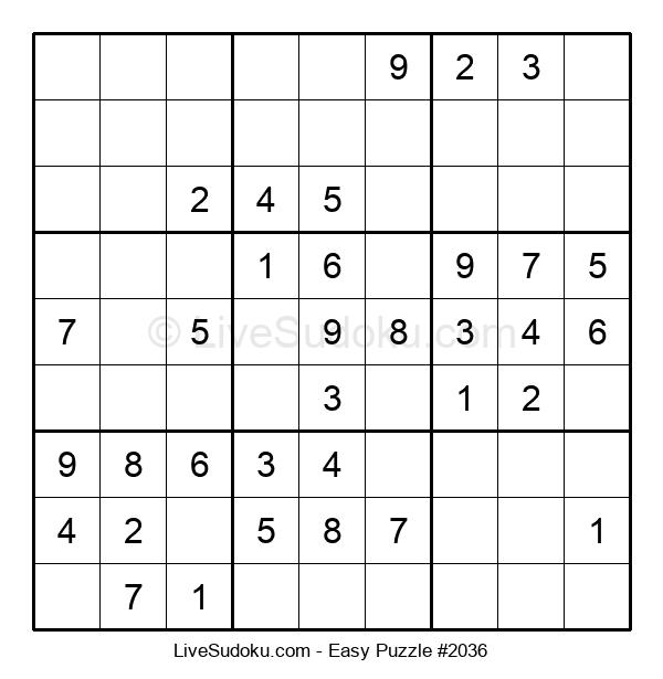 Beginners Puzzle #2036