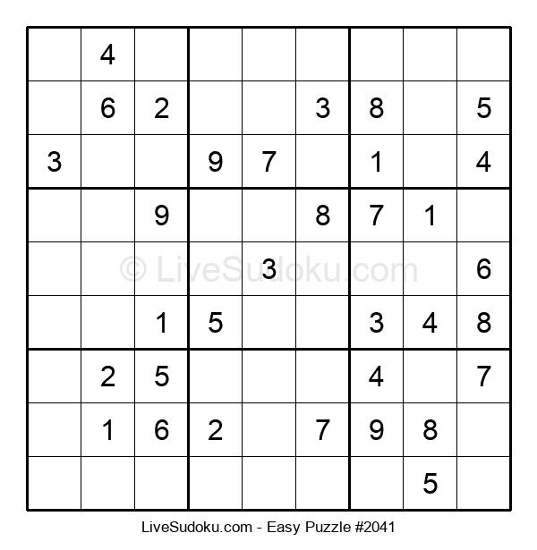 Beginners Puzzle #2041