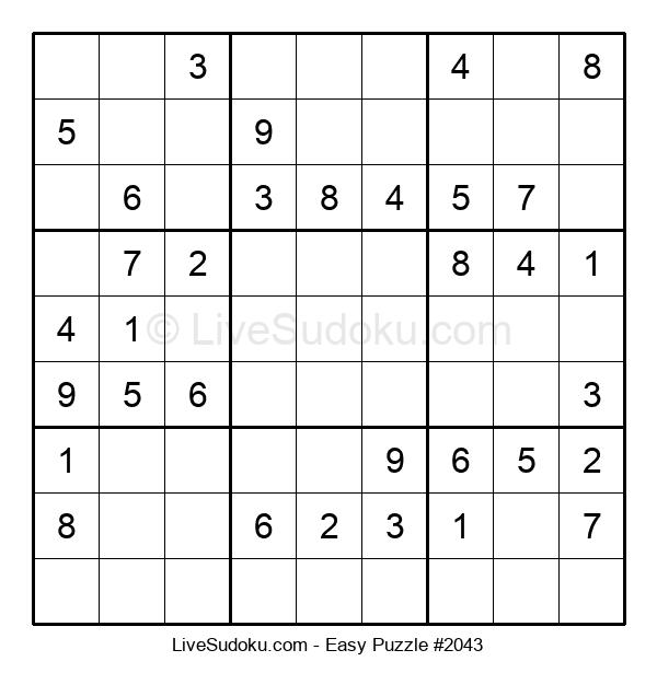 Beginners Puzzle #2043