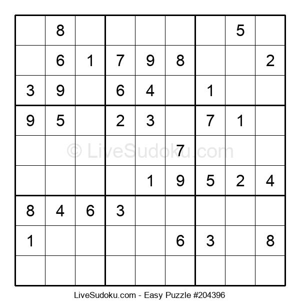 Beginners Puzzle #204396