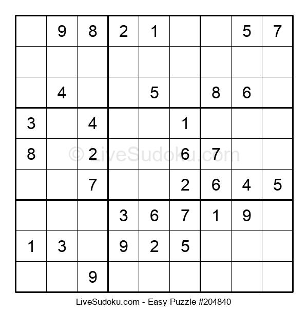 Beginners Puzzle #204840
