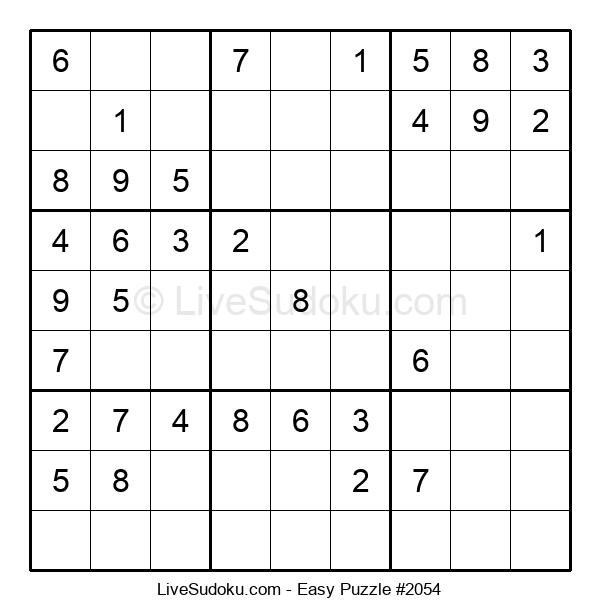 Beginners Puzzle #2054