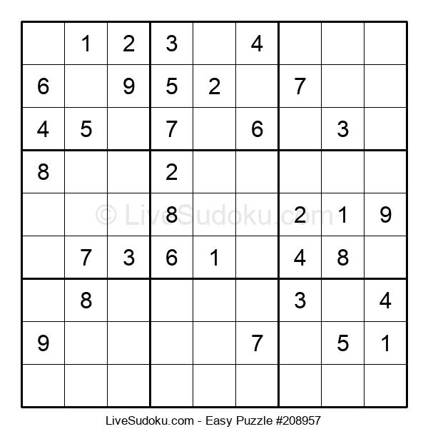 Beginners Puzzle #208957