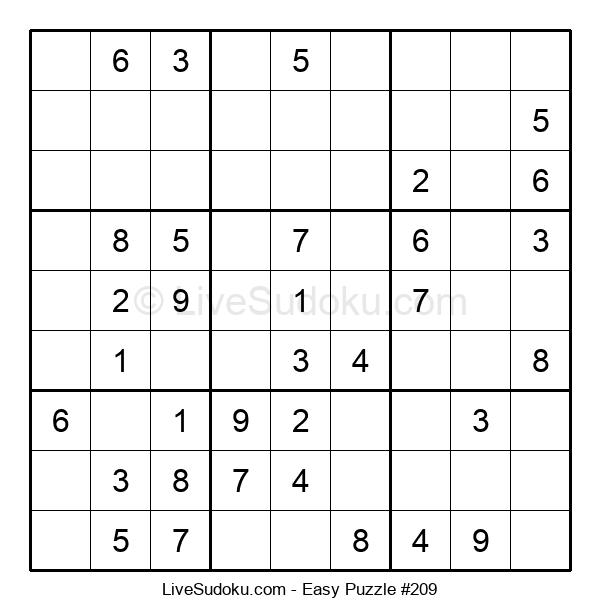 Beginners Puzzle #209