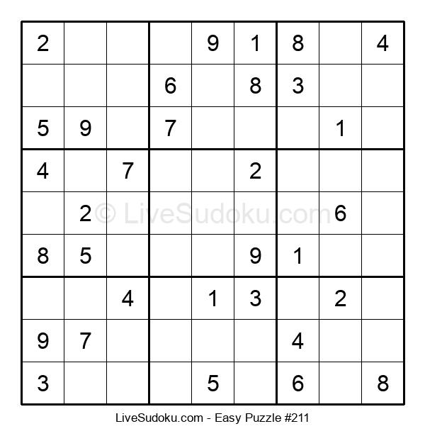 Beginners Puzzle #211