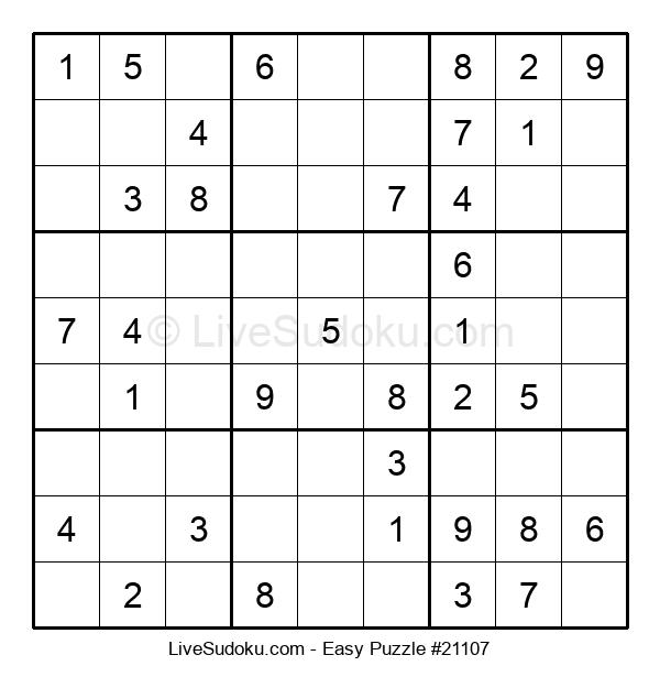 Beginners Puzzle #21107
